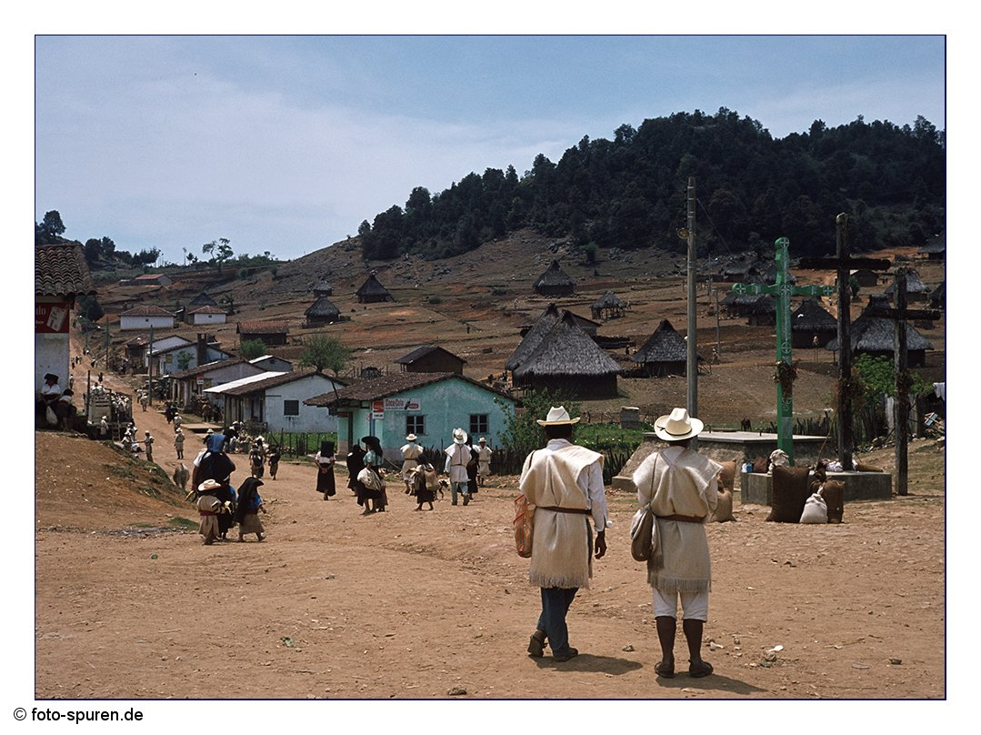 Bei den Chamulas in Chiapas, 1976