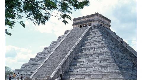 Die Pyramide des Kukulcan in Chichen Itza