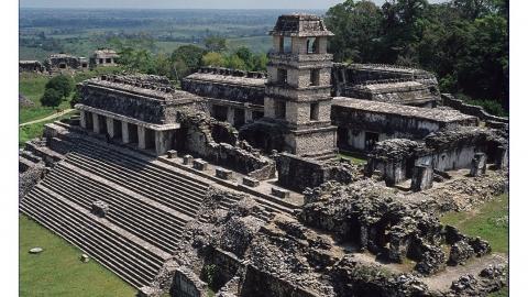 Der große Palast in Palenque