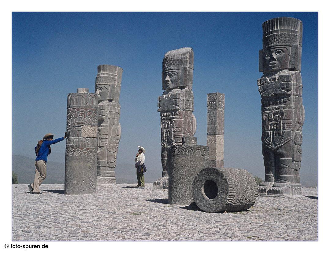 Die steinernen Krieger von Tula