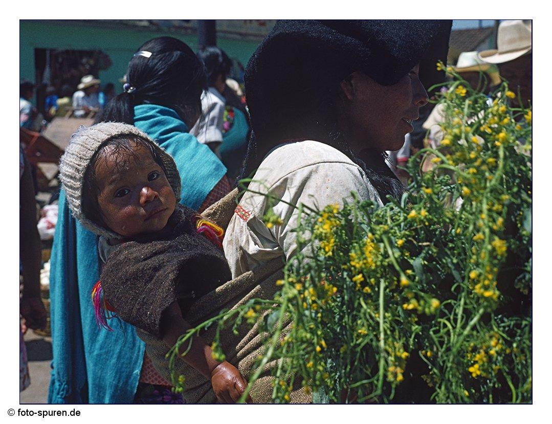 Chamulafrau auf dem Markt